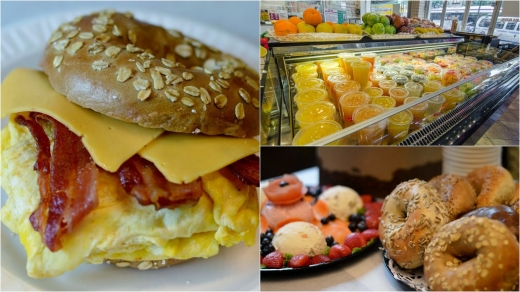 Bagel Cafe and Catering in New York City, New York, United States - #2 Photo of Food, Point of interest, Establishment, Store, Bakery