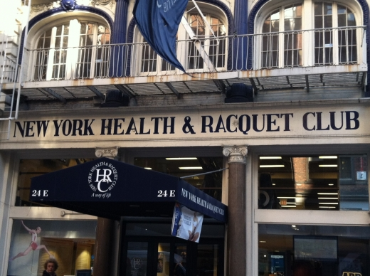 Photo by Etrus Hunt for New York Health & Racquet Club