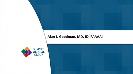 Photo by Alan J. Goodman, MD, JD, FAAAAI for Alan J. Goodman, MD, JD, FAAAAI