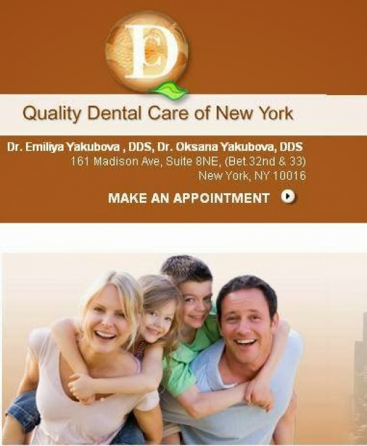 Photo by Quality Dental Care of New York for Quality Dental Care of New York