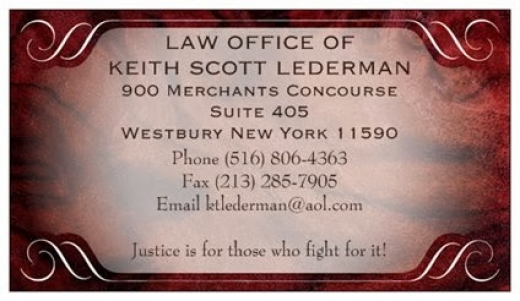 Photo by Law Office of Keith Scott Lederman for Law Office of Keith Scott Lederman