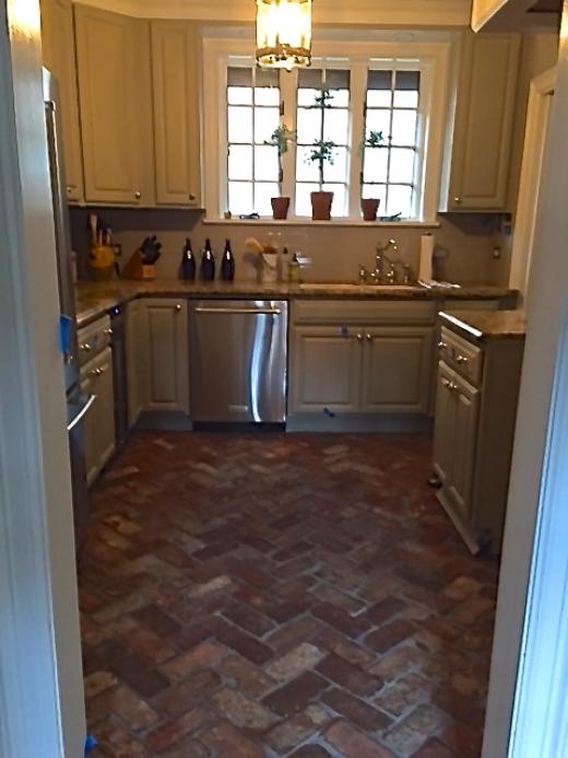 Installing tile backer board on wood floor
