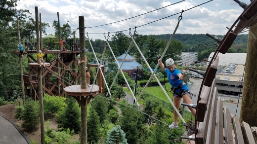 Treetop Adventure Course in West Orange City, New Jersey, United States - #2 Photo of Point of interest, Establishment, Amusement park