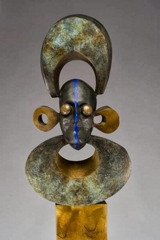 Photo by Jud Bergeron - Sculpture for Jud Bergeron - Sculpture