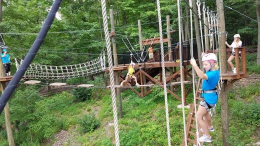 Treetop Adventure Course in West Orange City, New Jersey, United States - #4 Photo of Point of interest, Establishment, Amusement park