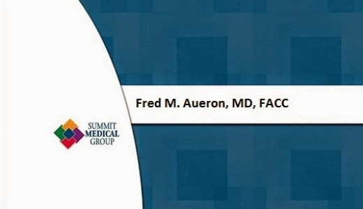 Photo by Fred M. Aueron, MD, FACC for Fred M. Aueron, MD, FACC