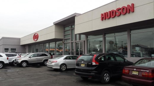 Hudson Kia in Jersey City, New Jersey, United States - #1 Photo of Point of interest, Establishment, Car dealer, Store, Car repair