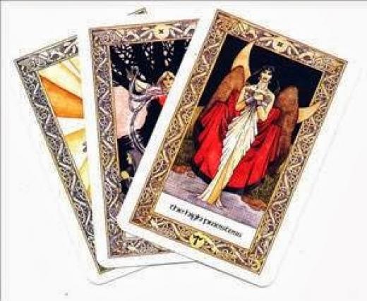 Гадание картах таро расклад три карты