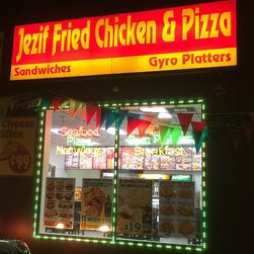 Jezif Fried chicken & Pizza in Carteret City, New Jersey, United States - #1 Photo of Restaurant, Food, Point of interest, Establishment