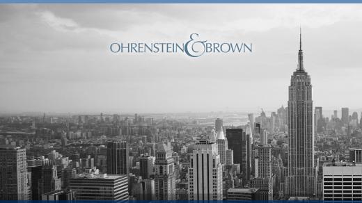 Photo by Ohrenstein & Brown LLP for Ohrenstein & Brown LLP