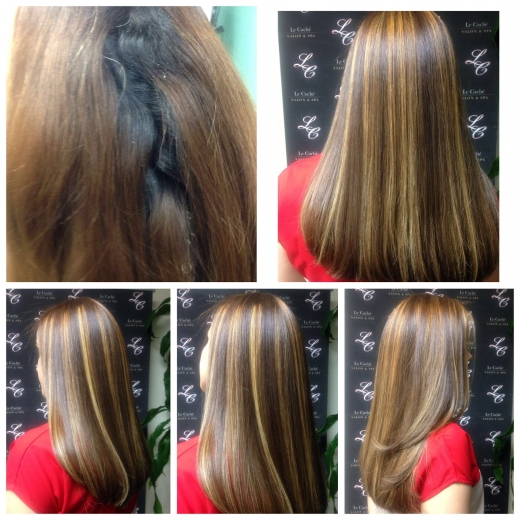 Photo by Cibelis Mercedes for Le Cache Hair & Nail Salon Inc