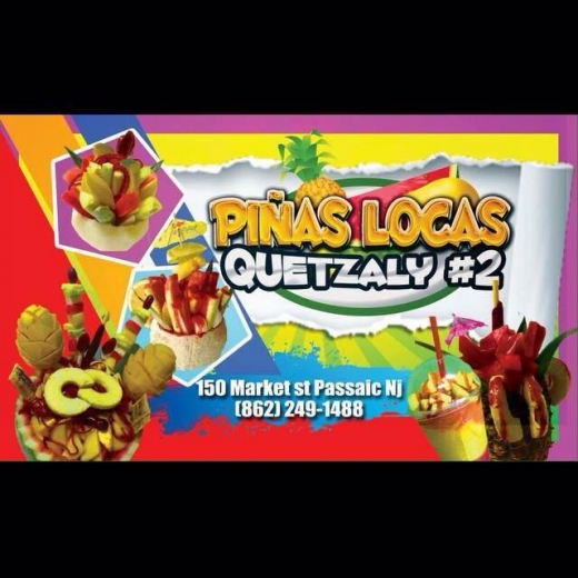 Piñas Locas Quetzaly in Passaic City, New Jersey, United States - #2 Photo of Food, Point of interest, Establishment