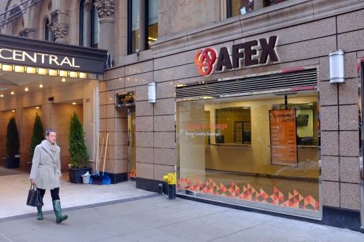 Afex associated foreign exchange bureau de change in new york
