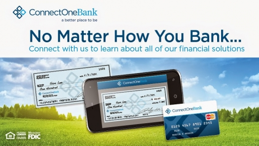 Photo by ConnectOne Bank for ConnectOne Bank