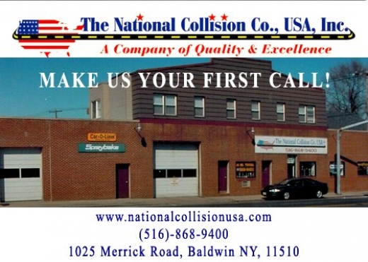 National Collision Co USA Inc in Baldwin City, New York, United States - #2 Photo of Point of interest, Establishment, Car repair