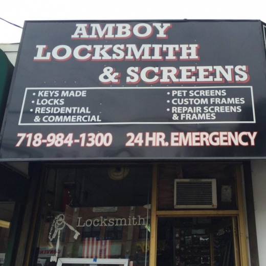 Photo by Amboy Locksmith and Screens Inc. for Amboy Locksmith and Screens Inc.