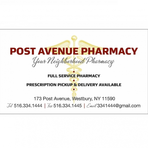 Photo by Post Avenue Pharmacy for Post Avenue Pharmacy