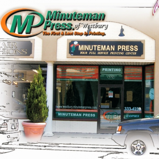 Minuteman Press in Westbury City, New York, United States - #1 Photo of Point of interest, Establishment, Store