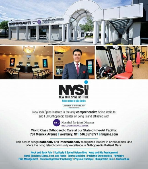 Photo by New York Spine Institute for New York Spine Institute