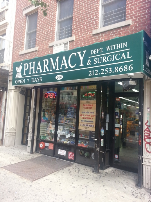 Photo by Zohair Yasin for New York City Pharmacy