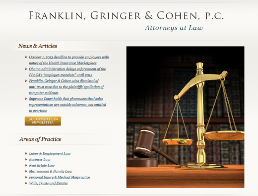 Photo by Franklin, Gringer & Cohen, P.C. for Franklin, Gringer & Cohen, P.C.