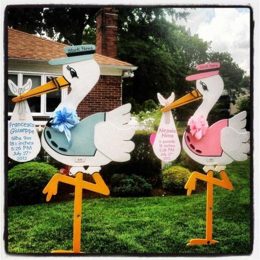 Photo by Oh Sweet Child Stork Rental & Birth Announcements for Oh Sweet Child Stork Rental & Birth Announcements